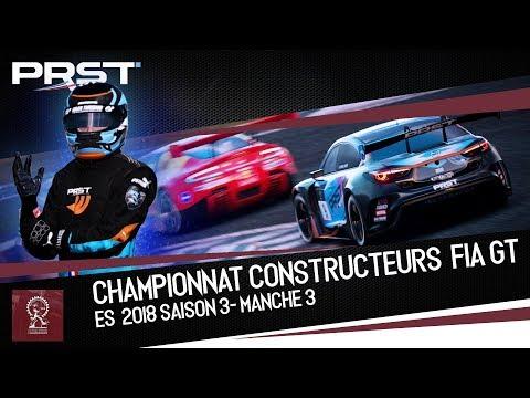 GRAN TURISMO SPORT : ES3 MANCHE 3 - CONSTRUCTEUR FIA GT I Une bataille féroce !! thumbnail