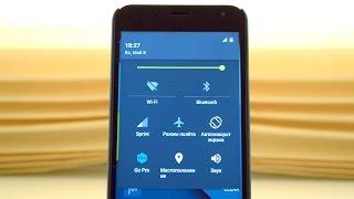 Изменяем шторку и статус бар на Android без root