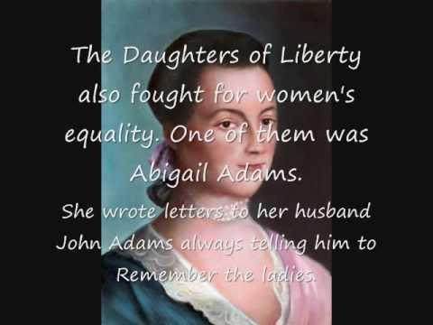 The Daughters of Liberty - YouTube