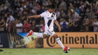 GOLAZO! Efrain Alvarez scores his first LA Galaxy goal with a picture-perfect free kick
