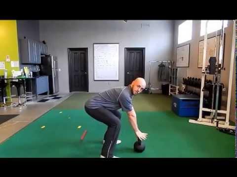 Kettlebell Swing For Golf Power