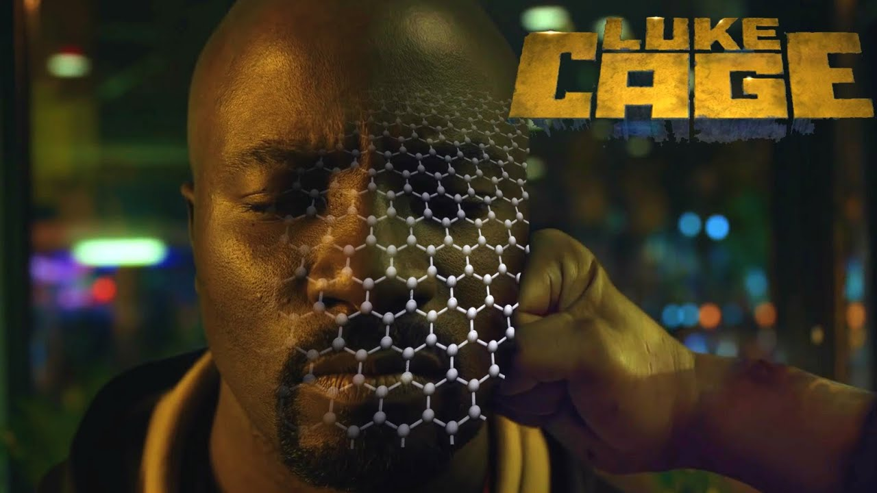 What is Luke Cage's Unbreakable Skin Made of? Strong & Tough Materials |  Physics vs Film (and TV)