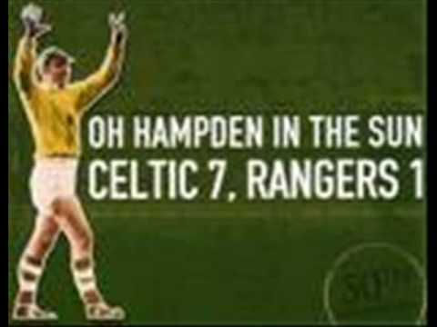 Hampden In The Sun Celtic 7 And The Rangers 1 Youtube