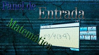 Panel de entrada matemática | Windows Vista, 7 y 8