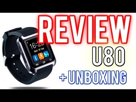 U80 / U8 Smartwatch | Unboxing y review (ESPAÑOL)