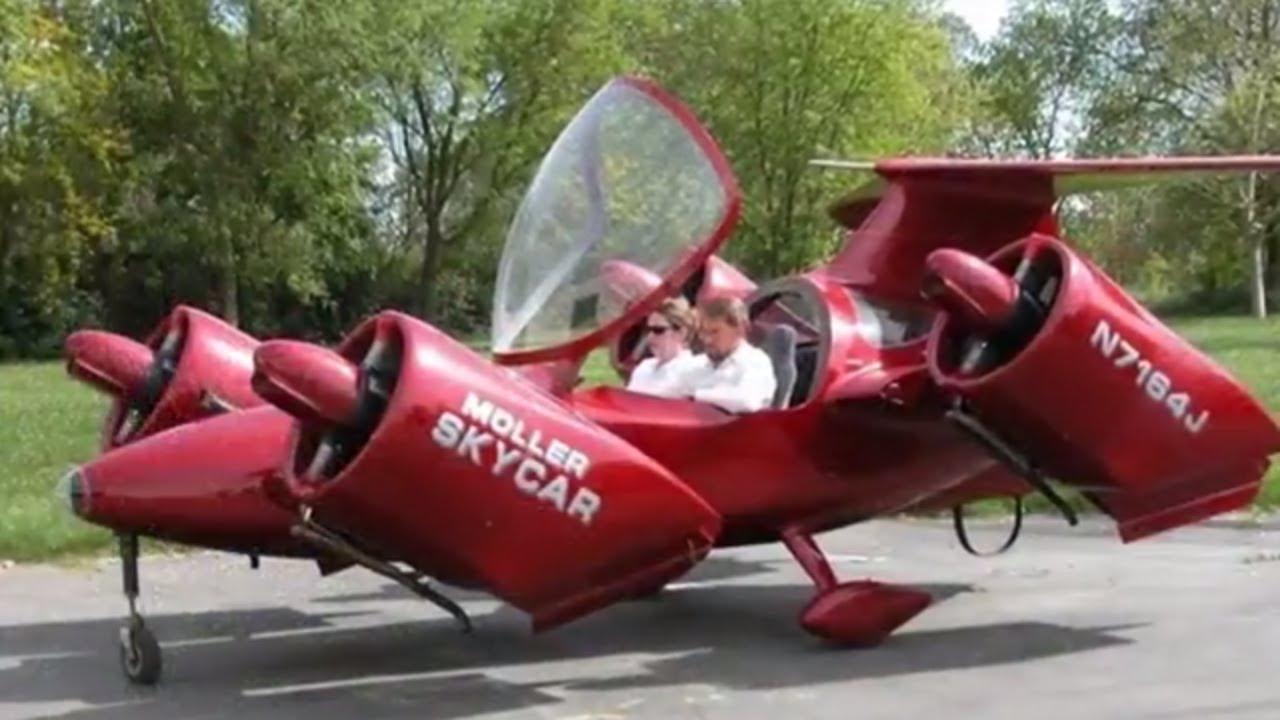 🚡 Moller M400 skycar VTOL flying car