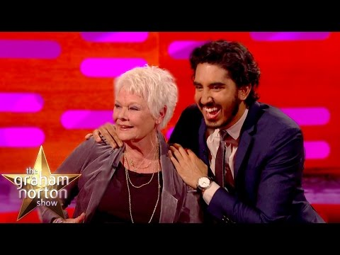 Dev Patel Explains Genital Joke To Dame Judi Dench  The Graham Norton