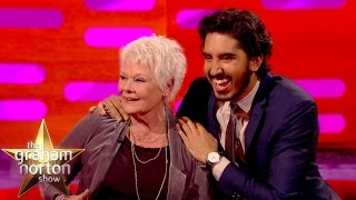 Dev Patel Explains Genital Joke To Dame Judi Dench - The Graham Norton Show
