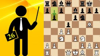 Queen's Gambit Declined, Tartakower variation - Standard chess #26