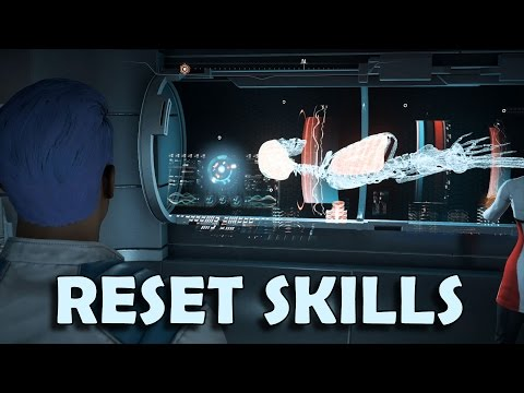 Mass Effect Andromeda - How to Reset Skill Points (Respec Character in Singleplayer)