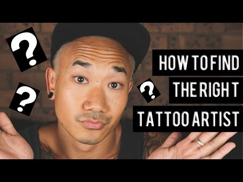 HOW TO FIND THE RIGHT TATTOO ARTIST FOR YOU