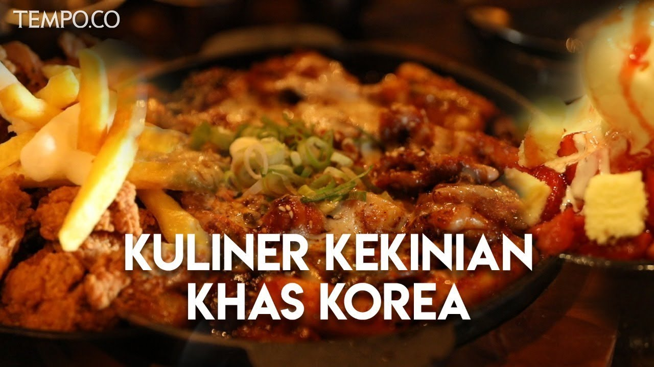 Kuliner Kekinian Khas Korea Video Tempo Co
