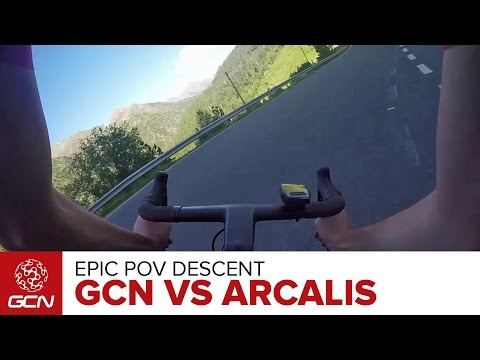 Epic POV Descent – GCN Rides Arcalis, Andorra | Tour De France 2016