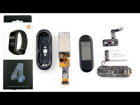 Тест на прочность и разборка фитнес-трекера Xiaomi Mi Band 4 Disassemble Fitness Tracker