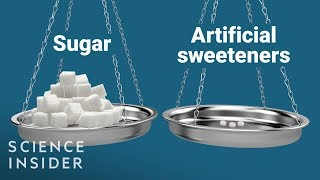 Difference Between Artificial Sweeteners And Real Sugar