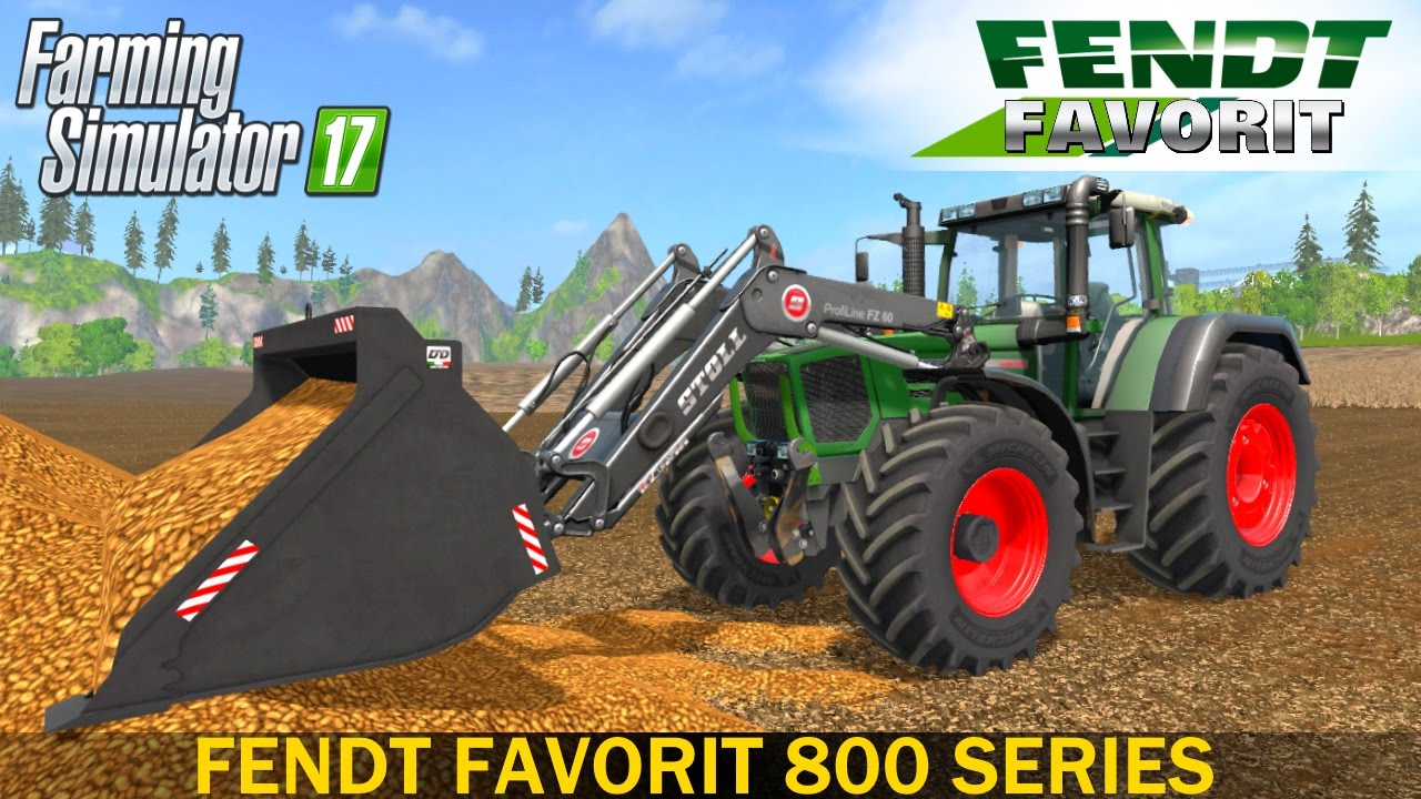Farming Simulator 17 FENDT FAVORIT 800 SERIES TRACTOR