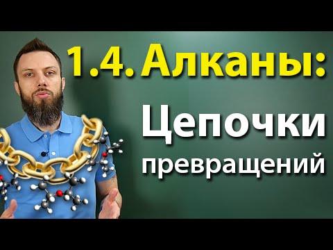 1.4. Алканы: Решение цепочек. ЕГЭ по химии