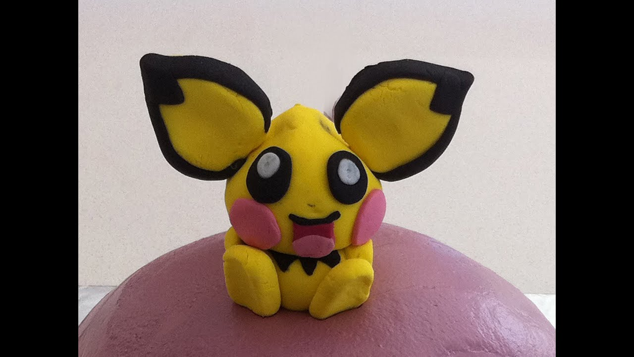 how to make pokemon pichu cake decorating lesson how to. Black Bedroom Furniture Sets. Home Design Ideas