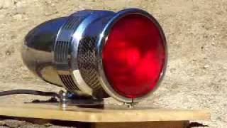 Fire Truck Siren Sterling model 30 Sirenlite