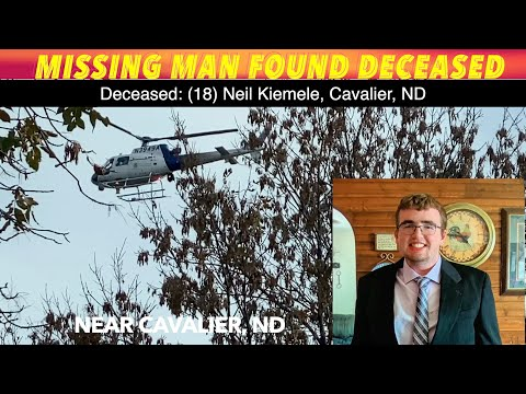 Missing Pembina County man found dead