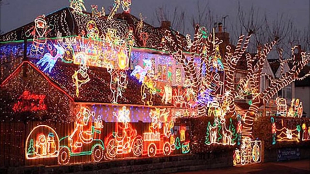 Las 5 mejores casas decoradas de navidad y los 5 mejores - Casas decoradas en navidad ...