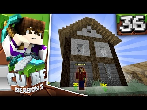Minecraft Cube SMP S3: E36 - A Gift for the Lumberjack!