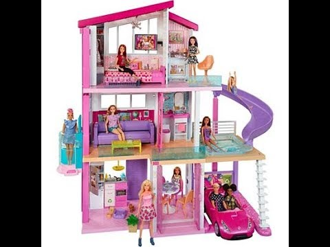 Barbie Doll House Video Youtube