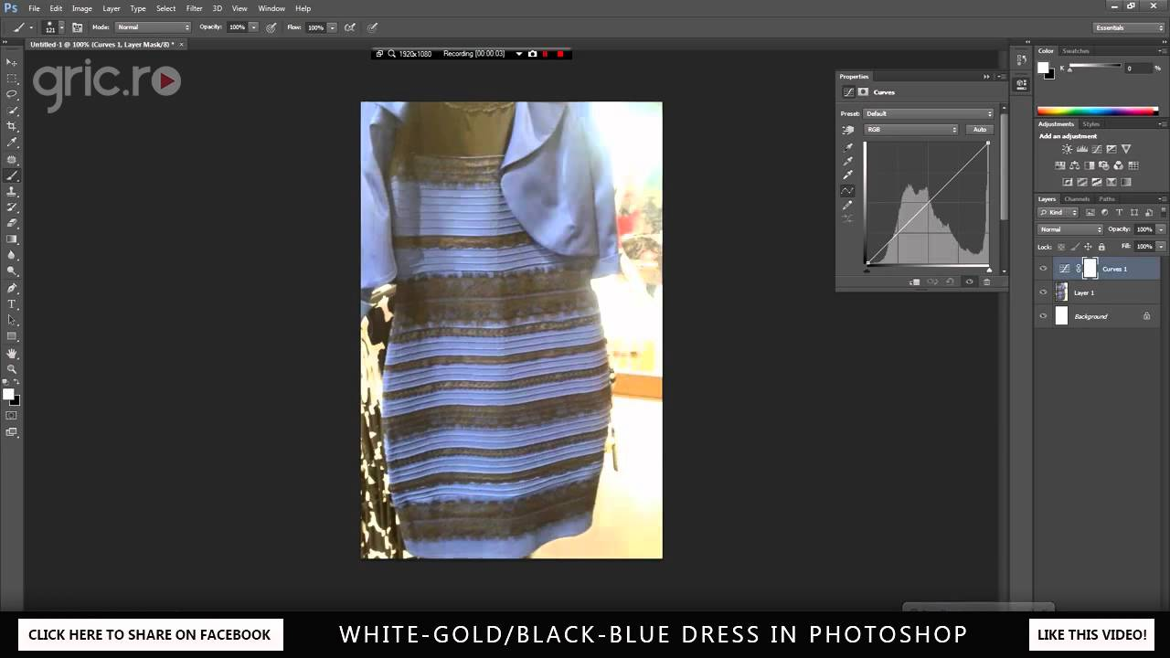 What color is the dress answer