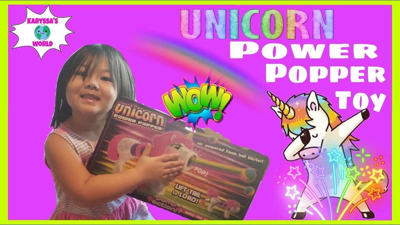 UNICORN POWER POPPER! Kids Unicorn Videos! Unicorn Toys for Kids! Family Fun Toys! Family Fun Times!