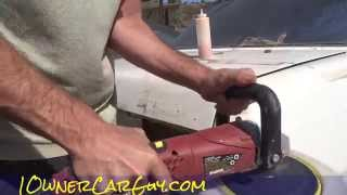 Polishing Old Paint Buffing Cars DIY ~ How Not to Polish & Buff Cars