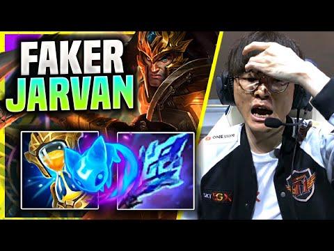 FAKER TRIES NEW META JARVAN AP SUPPORT! – T1 Faker Plays Jarvan IV Support vs Sett! | Season 11
