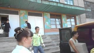 Доставлен гуманитарный груз для школ г. Брянка(Канцелярские товары от ОД