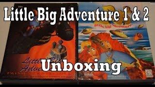 Little Big Adventure 1 & 2 (LBA) Unboxing / Review (PC)