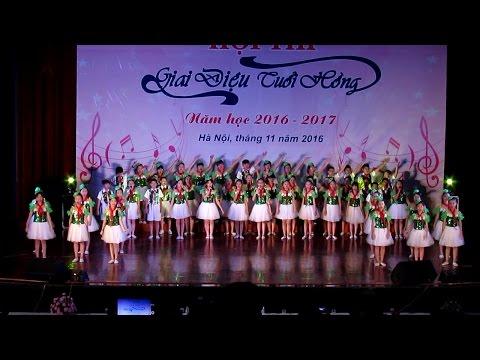 Hội thi Giai điệu tuổi hồng TP Hà Nội 2016 - Sắc hương Hà Nội - Tốp ca THCS Xuân La, Quận Tây Hồ