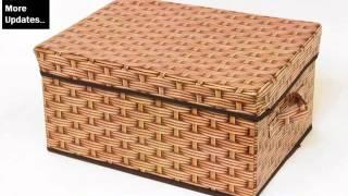 Wicker Storage Cube | Wicker Furniture Ideas