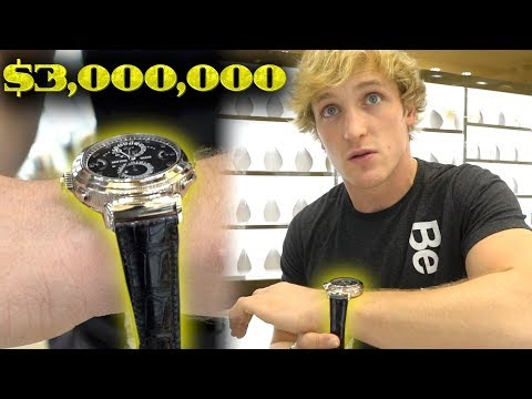 MY NEW $3,000,000 WATCH!