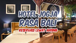 Gambar cover Rekomendasi Hotel Airbnb Jogja Rasa Bali | Review Hotel Mistis Angker Yogjakarta | La Casa Jogja
