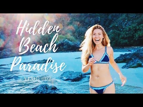 BEHIND THE SCENES FILMING WORKOUT VIDEOS IN BYRON BAY AUSTRALIA | TRAVEL VLOG 002 👙🍹