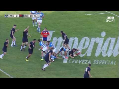 Highlights, Argentina 34 England 38