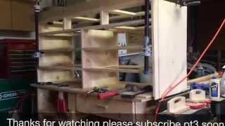 Scrap Wood Dresser Pt2