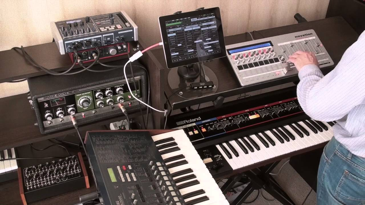 Motion Soundscape: Using iOS apps for live performance
