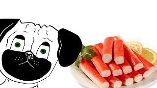 Dawg и крабовые палочки (анимированная анимация)