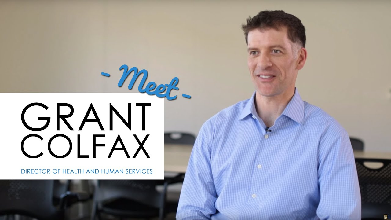 Meet Grant Colfax Director Of Marin Health And Human Services