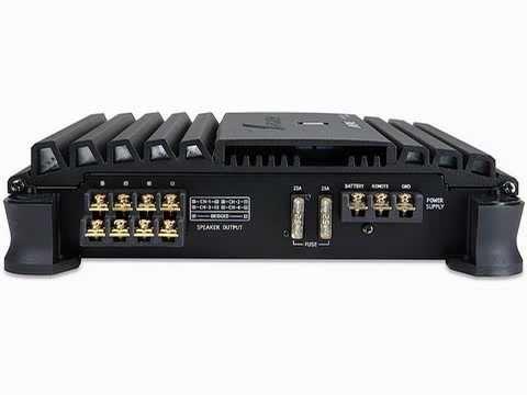 BEST Alpine Car Audio, Alpine MRP-F300 4-Channel 300 Watts Amplifier