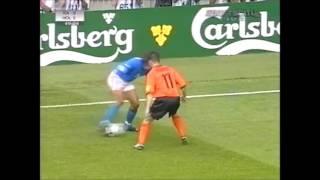 Paolo Maldini Vs Marc Overmars EURO 2000