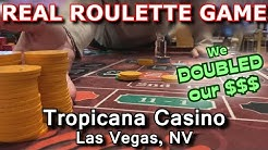 I WON ON EVERY SPIN! - Live Roulette Game #18 - Tropicana Casino, Las Vegas, NV - Inside the Casino