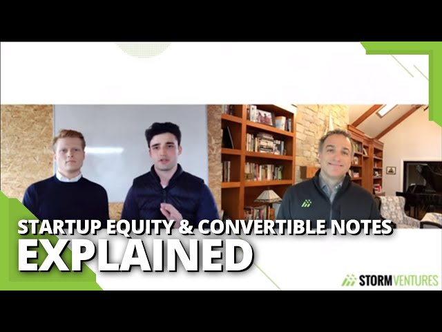 Startup equity & convertible notes explained - AskAVC #26