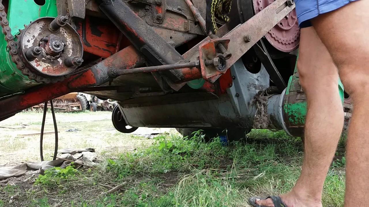 Установка отремонтированного ходового вариатора старого образца на комбайн НИВА СК 5