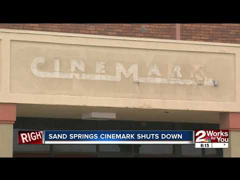 Cinemark Movie Theater In Sand Springs Shuts Down