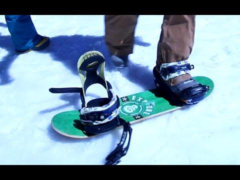 Snowboarding On A Skateboard